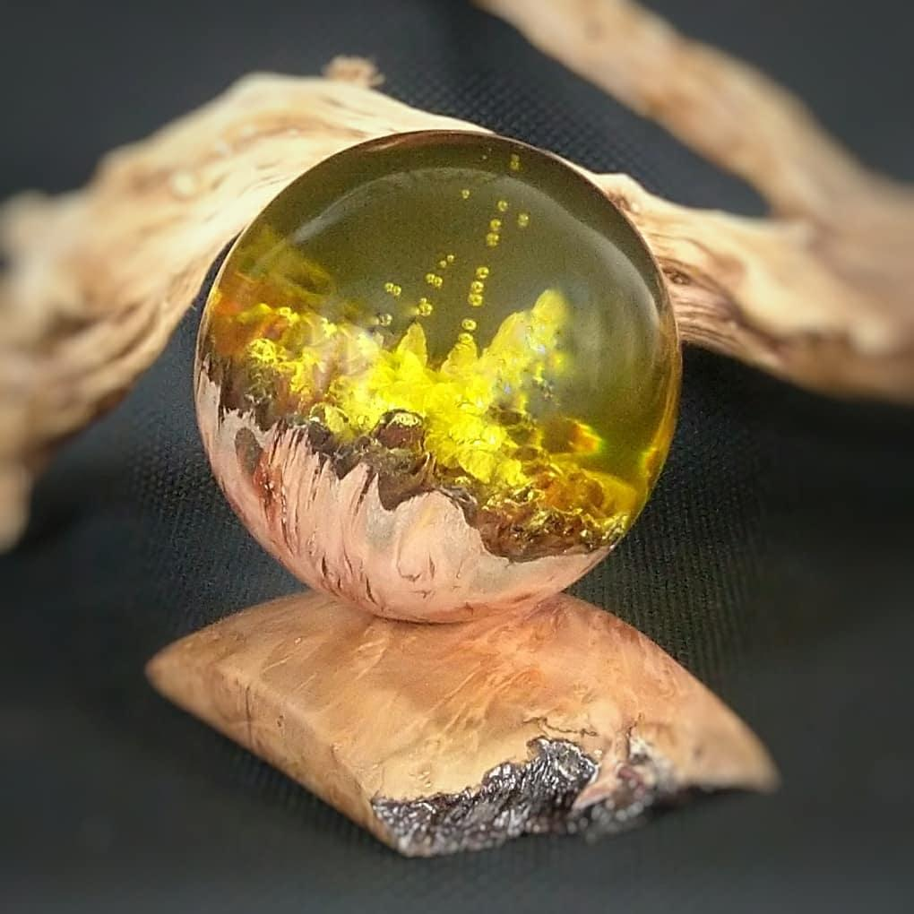 Jarrah Yellow Sphere