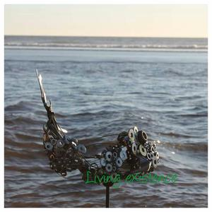 Living existence metal artwork