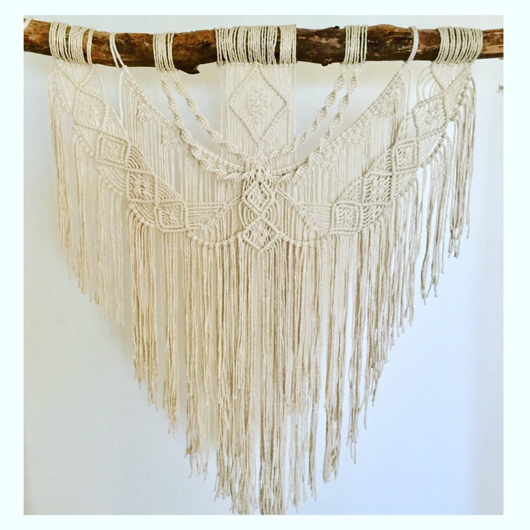 Boho wall hanger