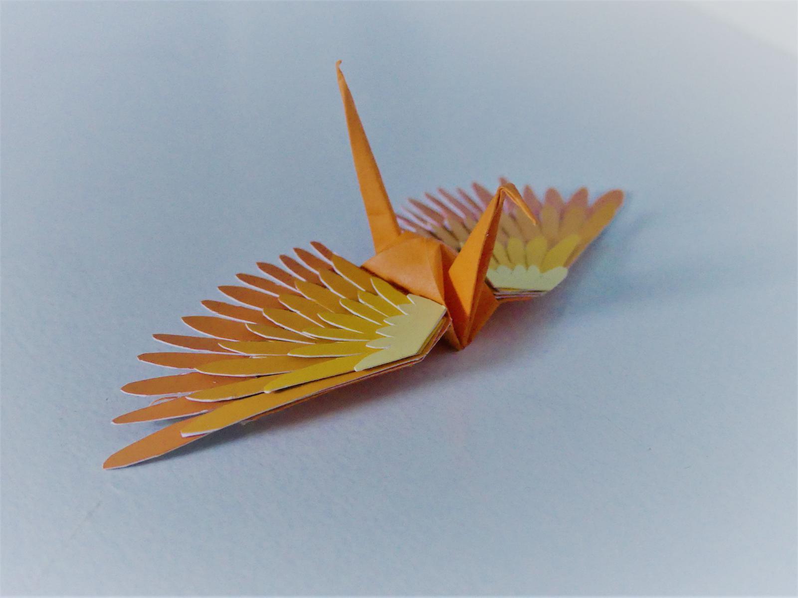 Orange crane