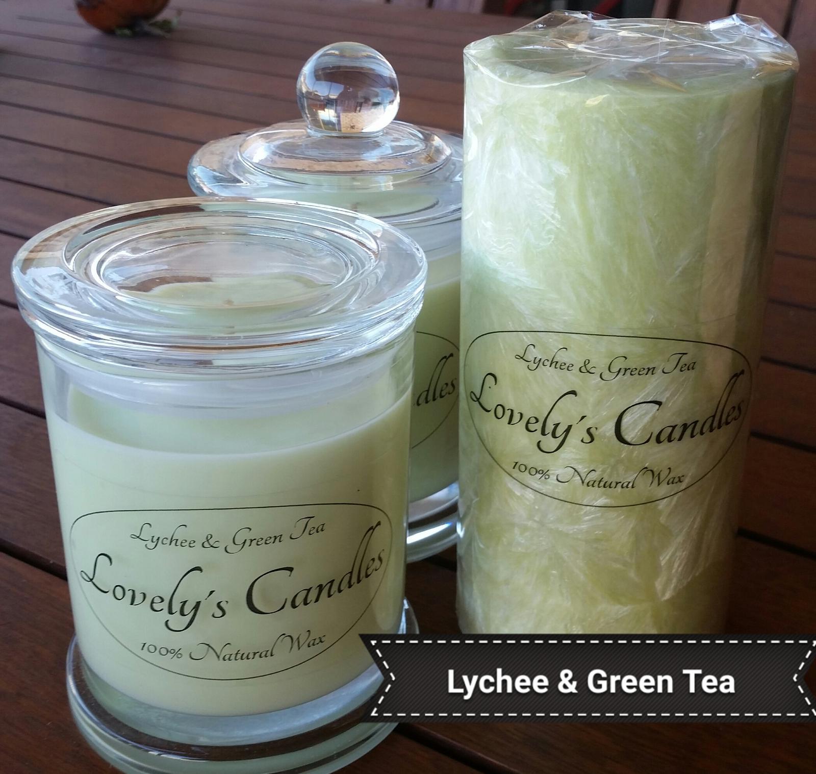 Lychee & Green Tea