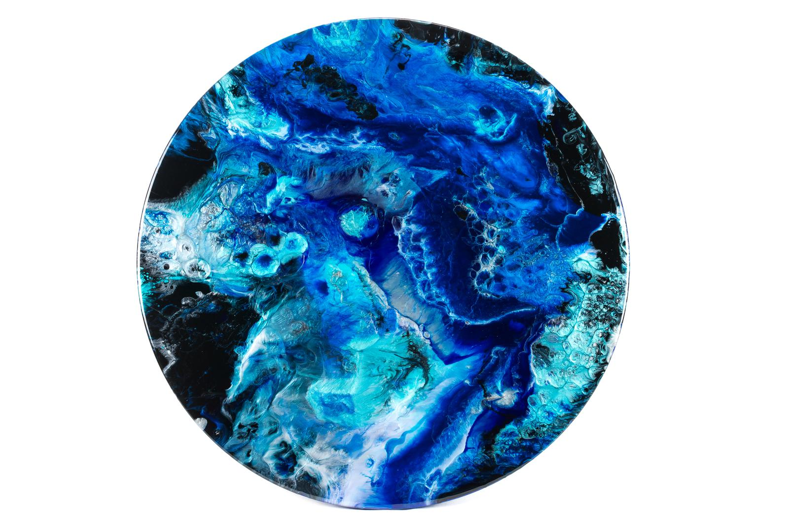 Reef View Resin Painting