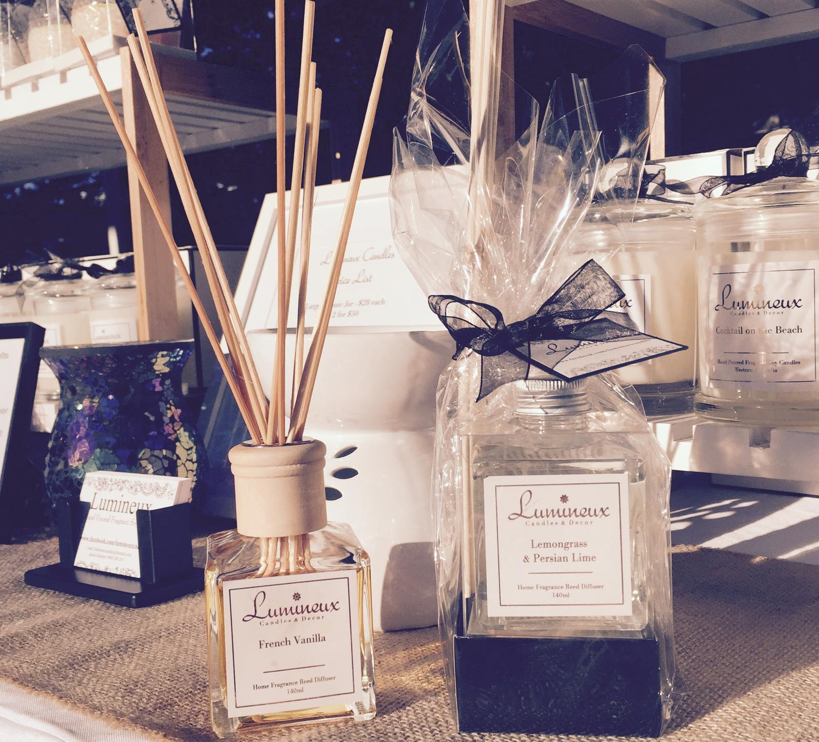Fragrance Soy Candle and Diffusers