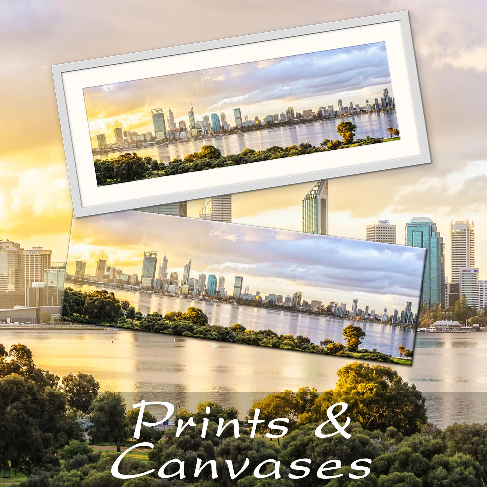 Prints and Canvases of Western Australia