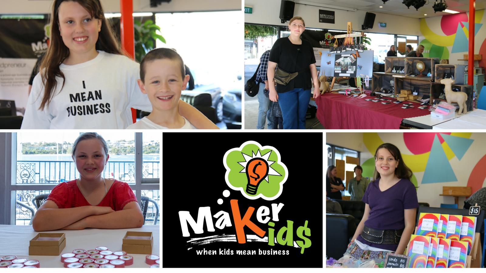 Meet our kidpreneurs on 17 Nov - Stella, Ash and Sofia