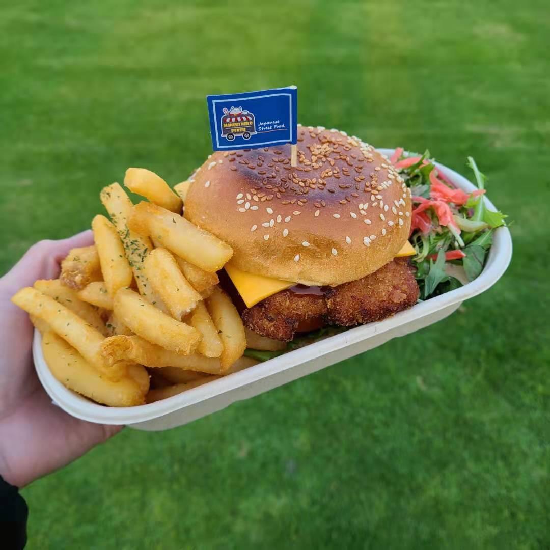 Katsu Pork Burger