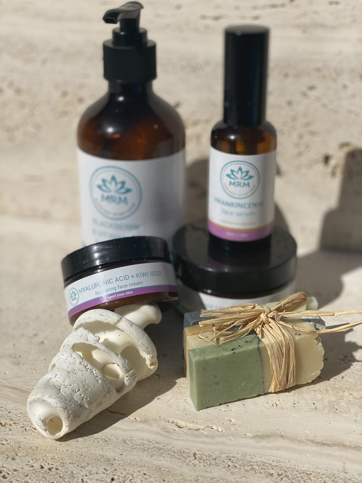 Our  Face + Body Care Range