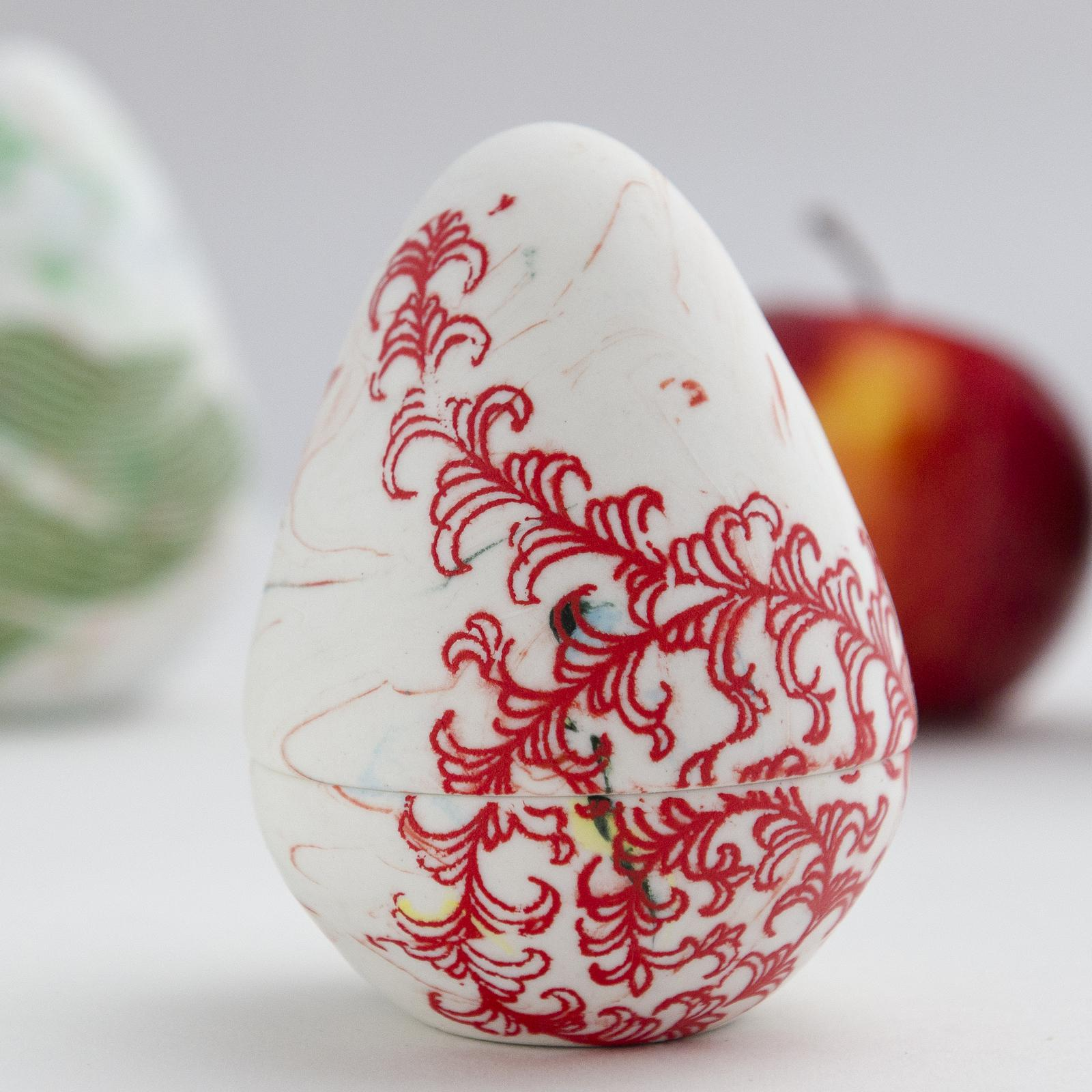 Marianne Annereau Ceramics Mermaid Egg