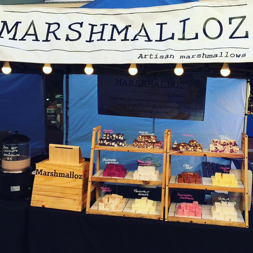 Marshmalloz stall