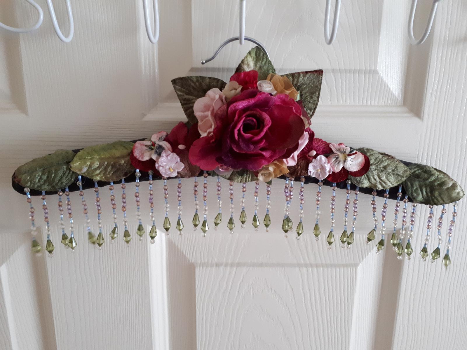 Beaded Hanger