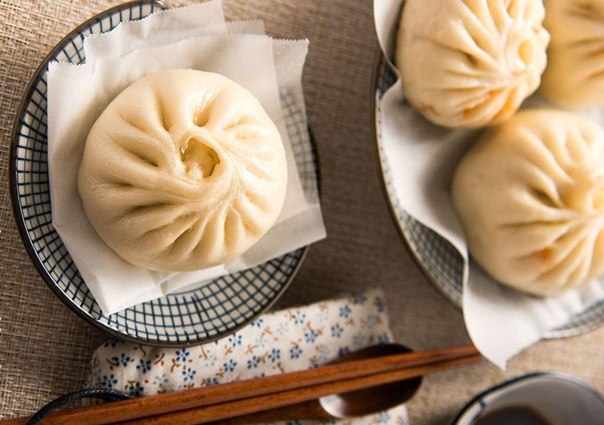 Chinese fluffy Bao