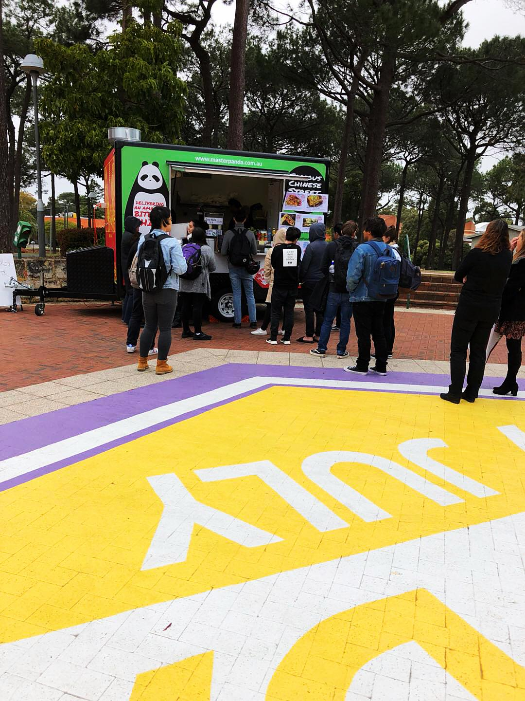 Curtin Uni Food Truck Program