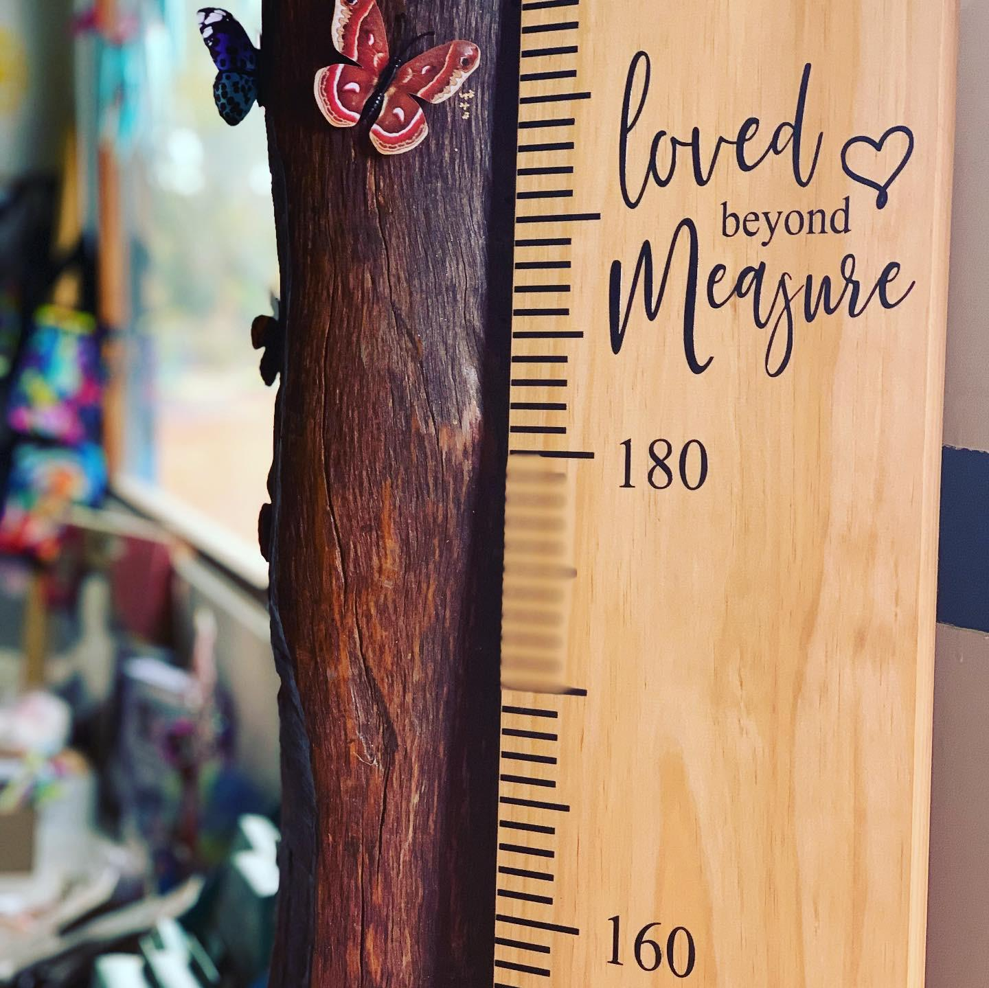 Ready to Hang Ruler - Loved Beyond Measure