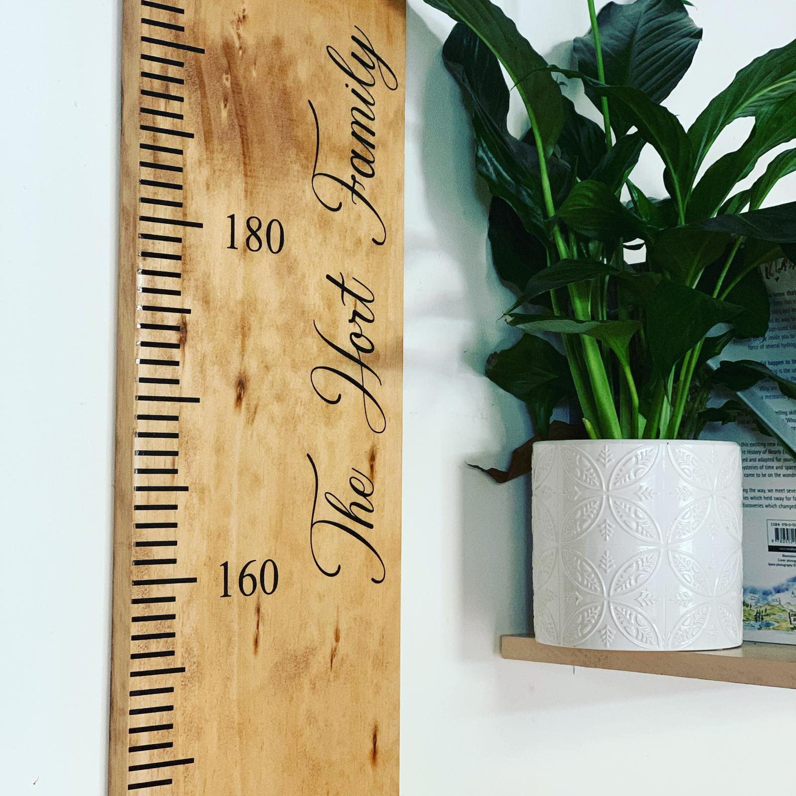 Custom Family Growth Chart