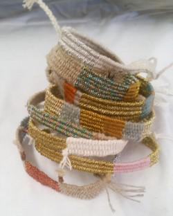 Meraki Designs hand woven bracelets
