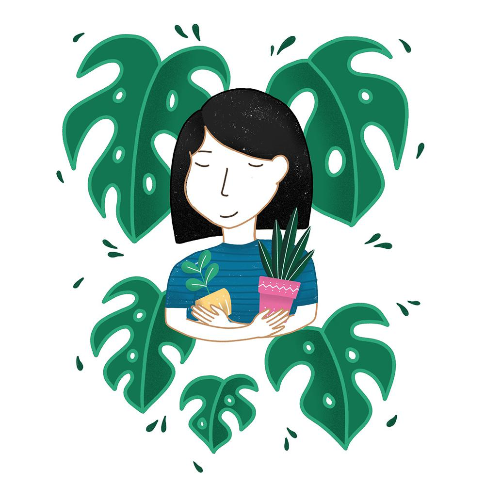 Custom Plant Lady Portraits