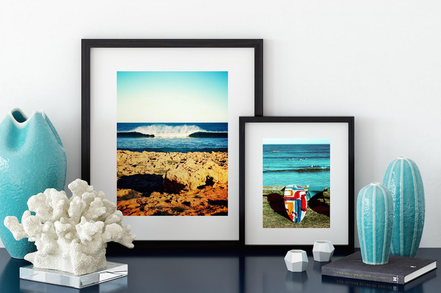 Surf-inspired art for your walls.