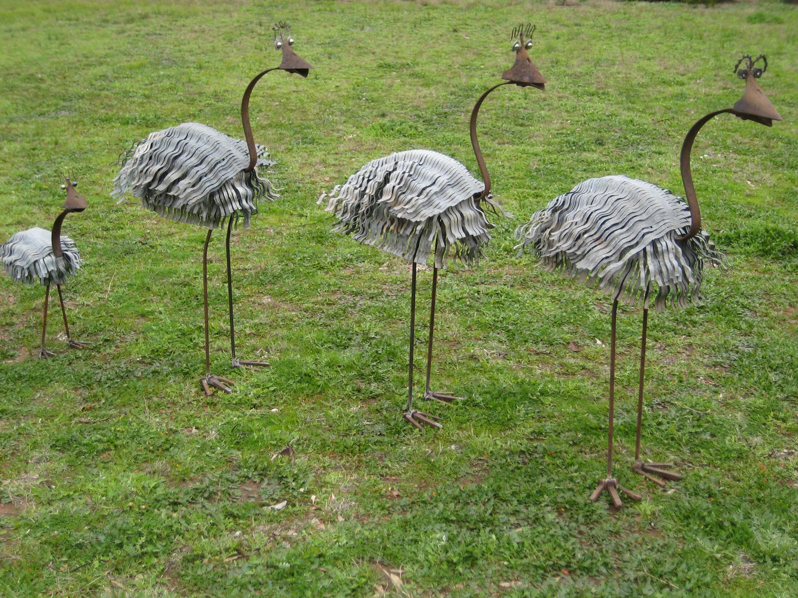 Metal Garden Sculptures 1