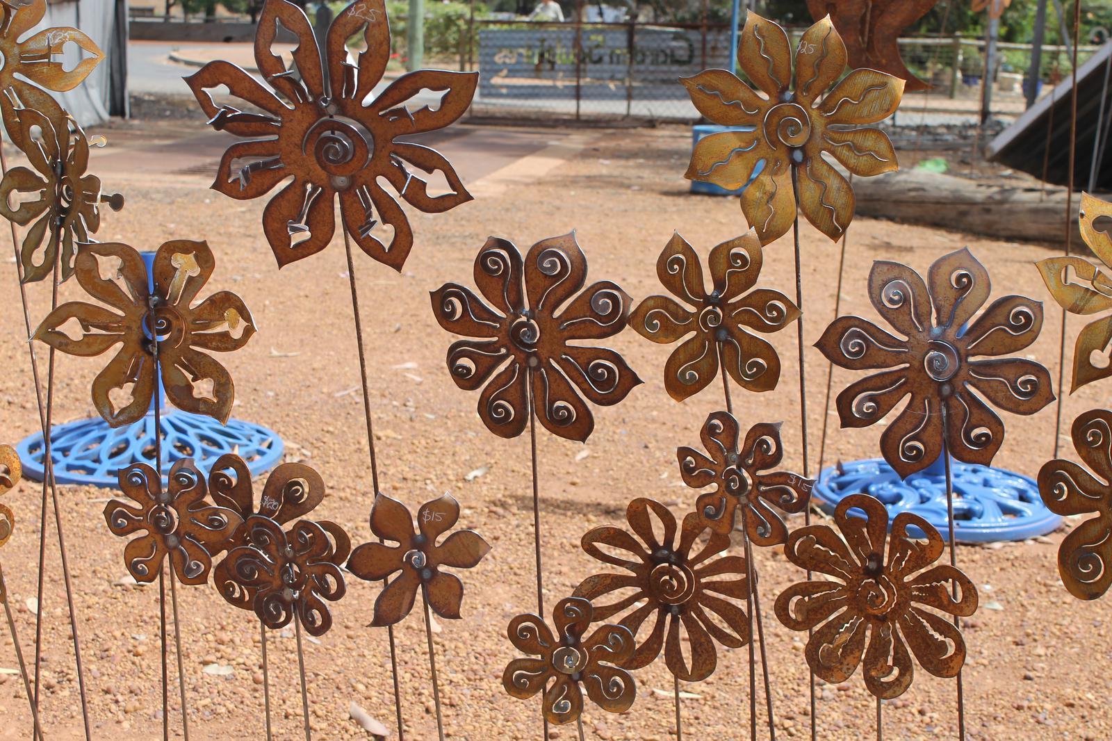 Metal Garden Sculptures 3