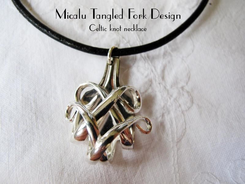 Tangled Fork Celtic Knot