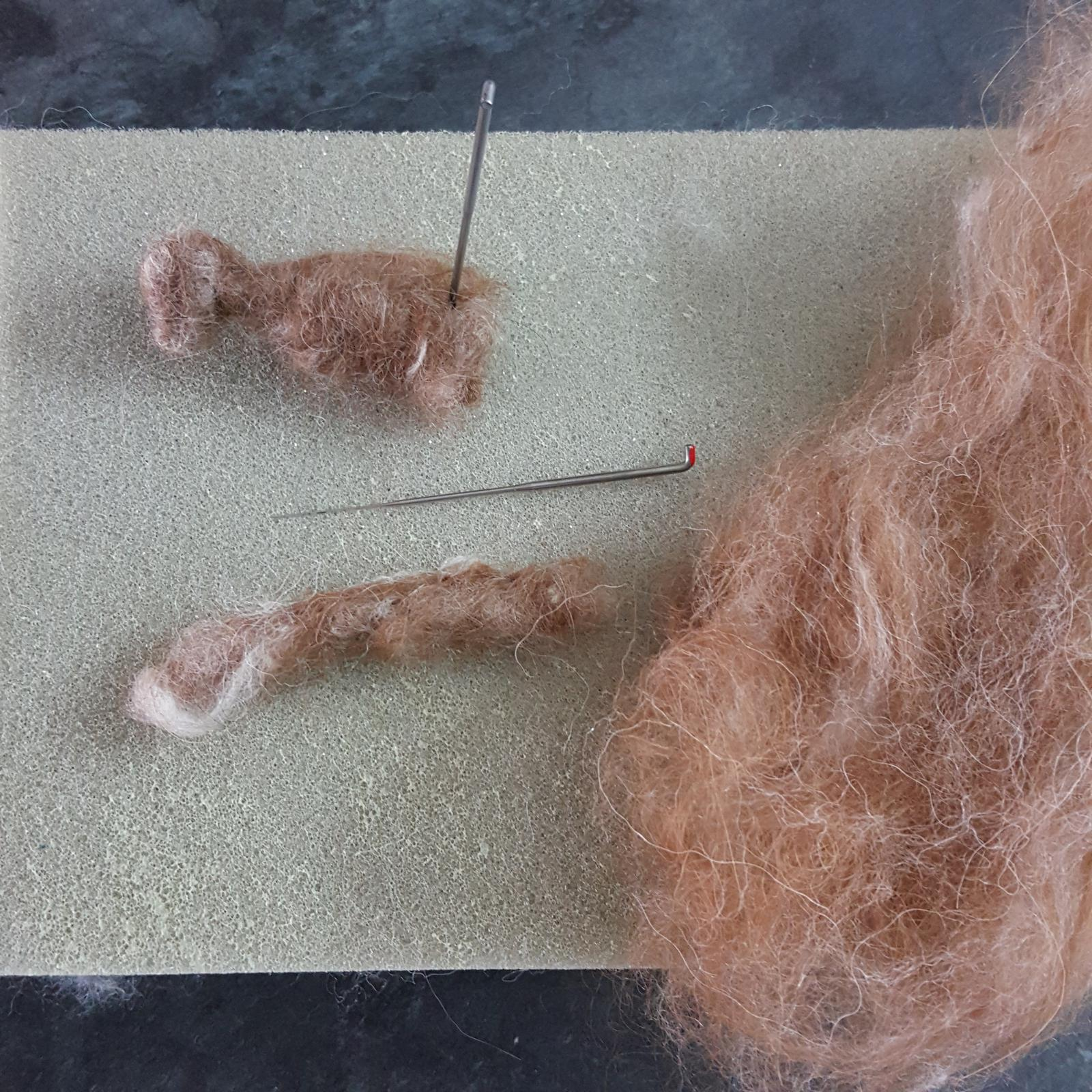 Materials for needle felting