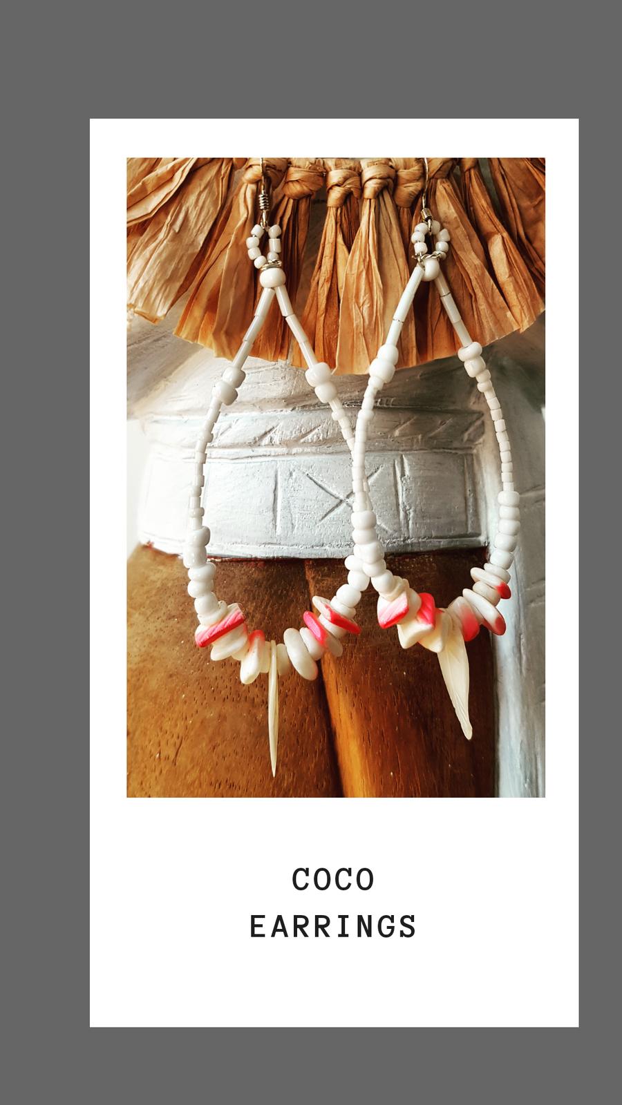 Coco Shell Earrings