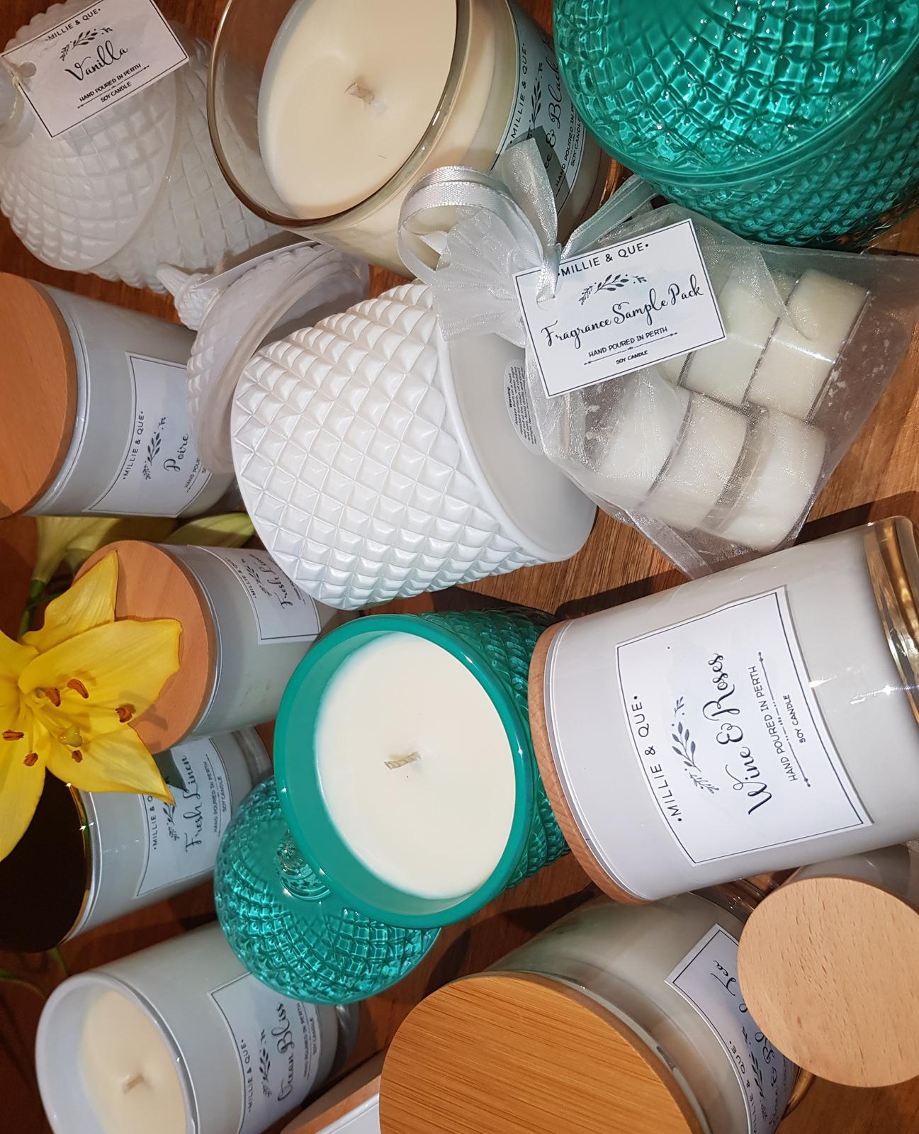 Our Range of Candles