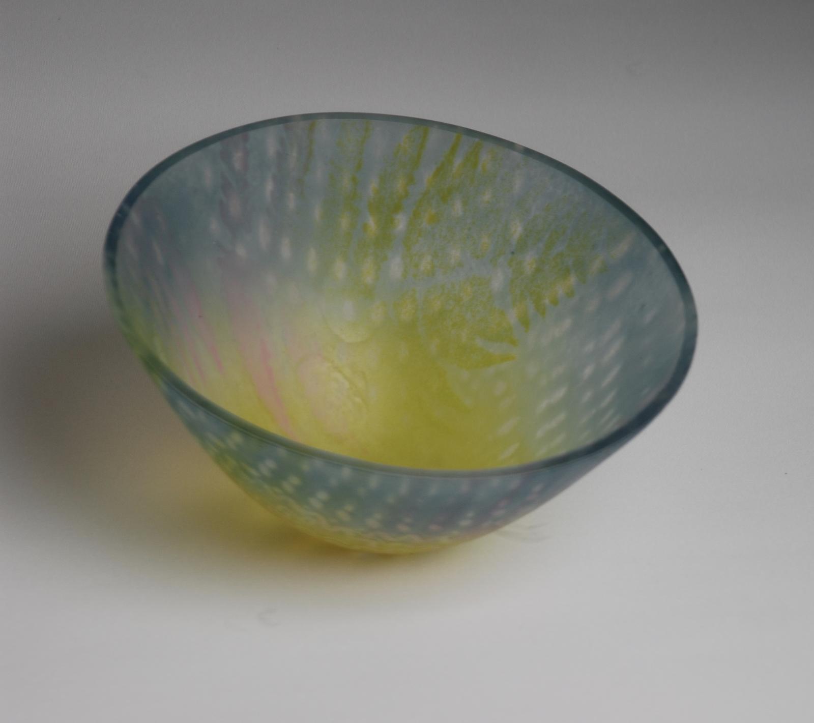 Fern Powder Bowl