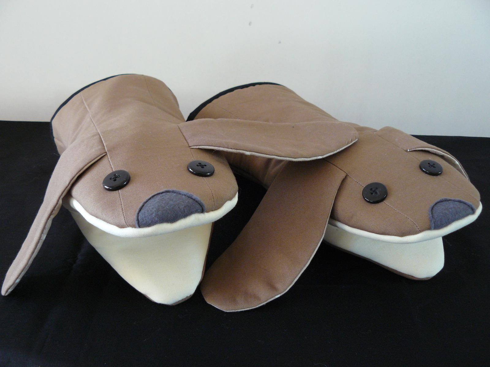 Oven Gloves - cute dogs