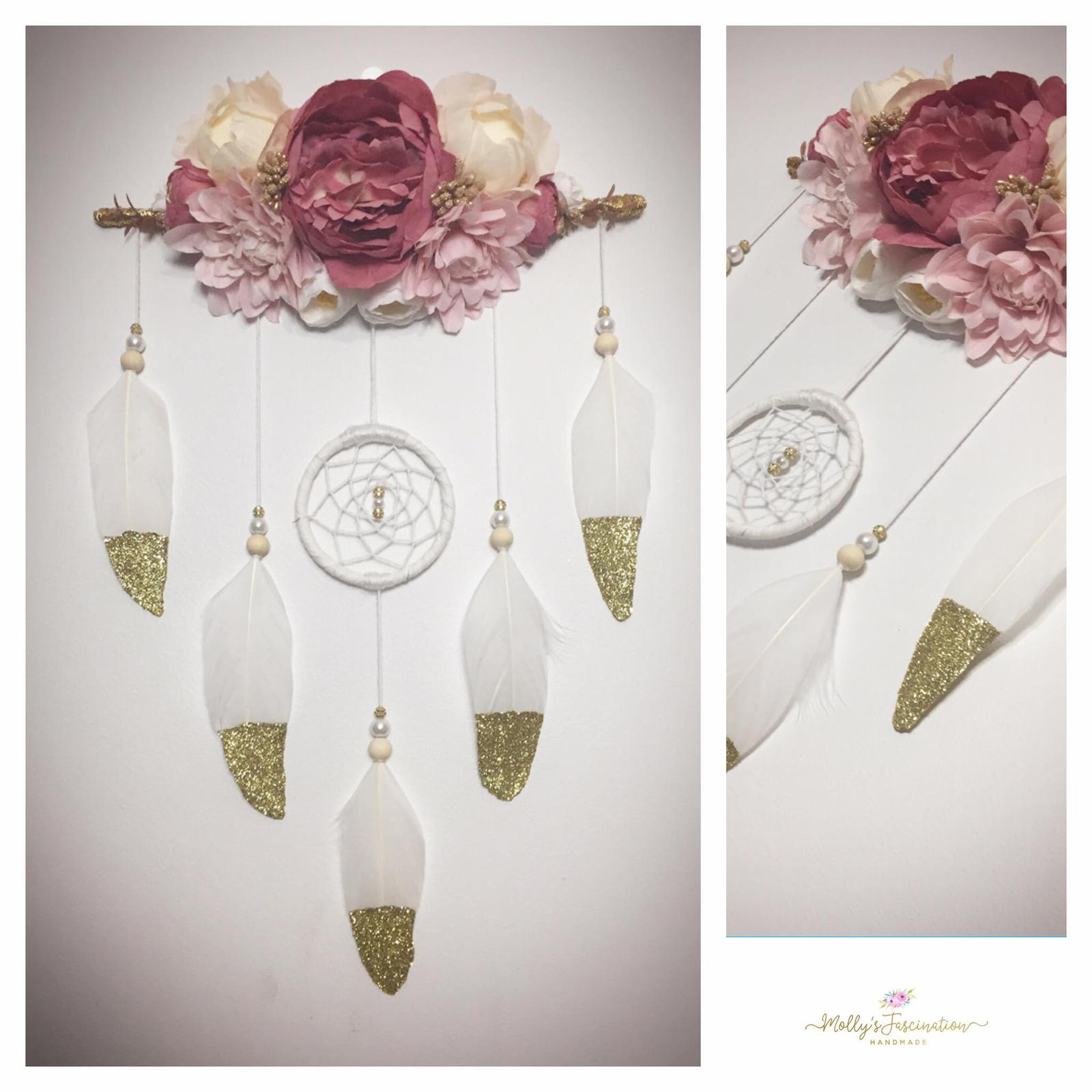 Boho style dream catchers