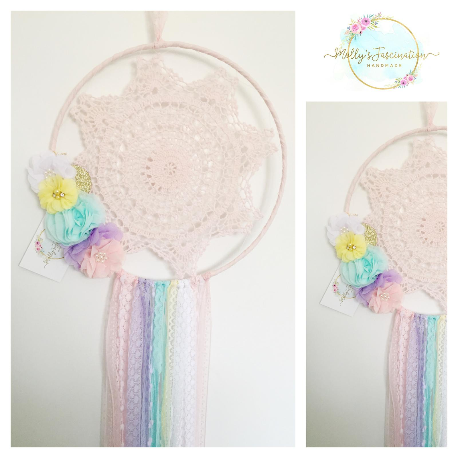 Doily Dream catchers