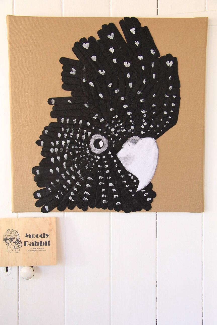 Female Black Cockatoo Wall Art