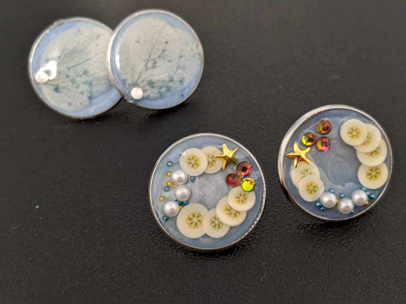Fruit and dried flower studs