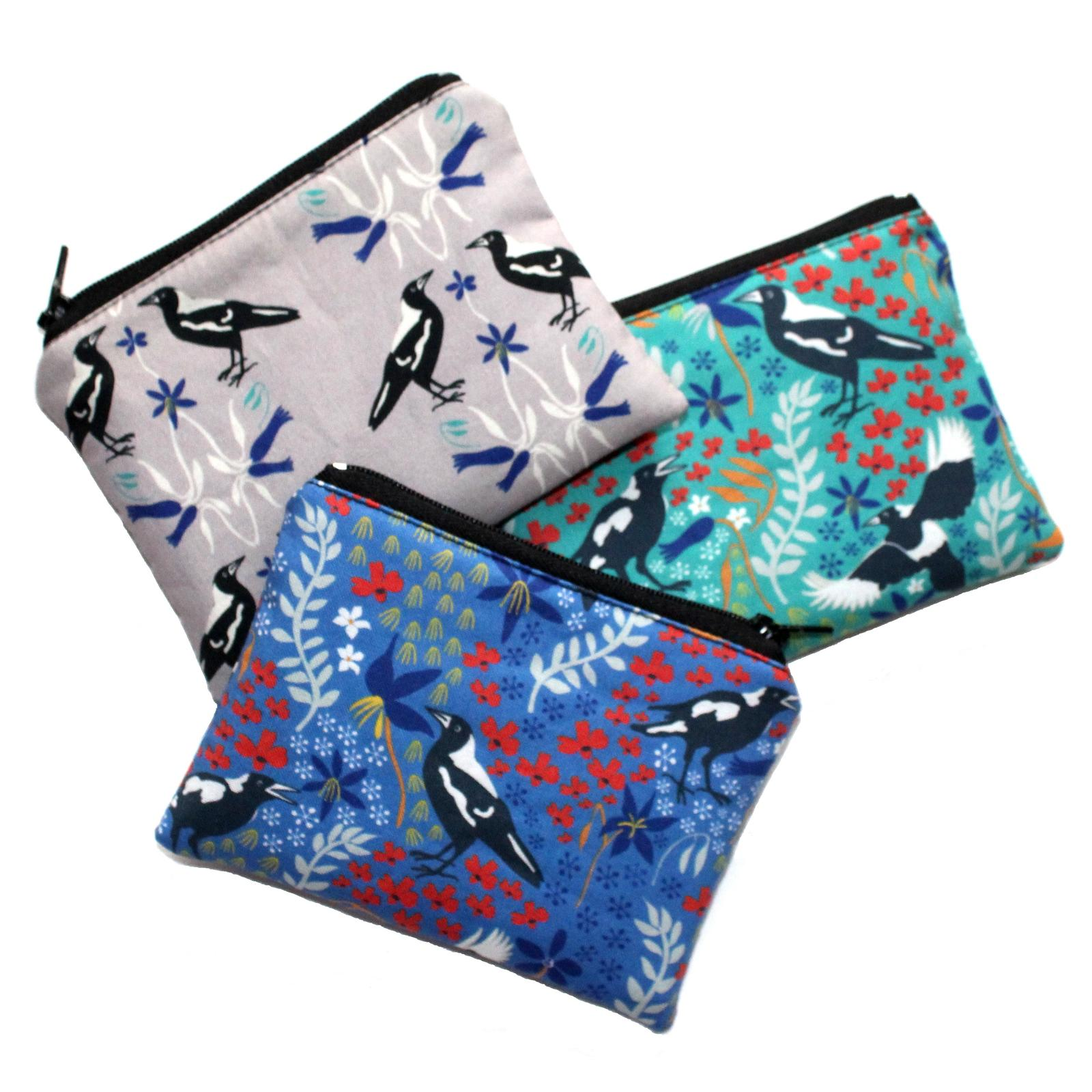Coin Purses in Australiana fabrics