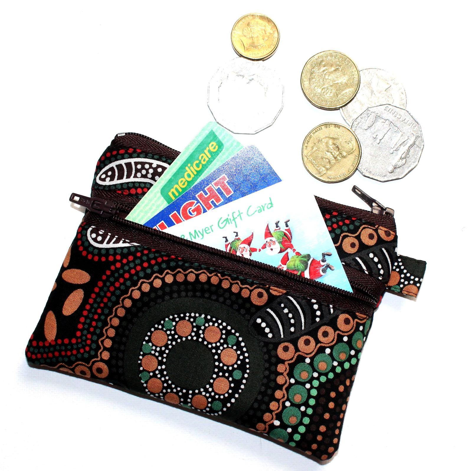 Coin Purses with Two Compartments