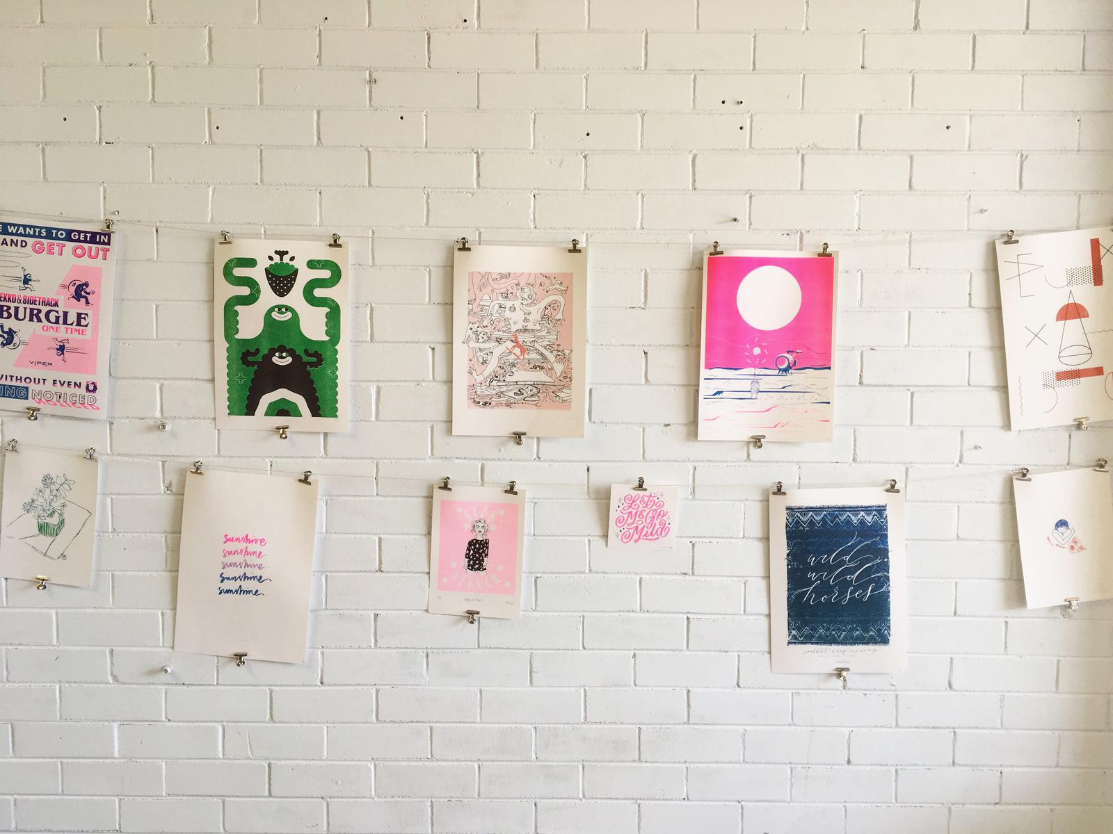 Neighbourhood press Art Prints