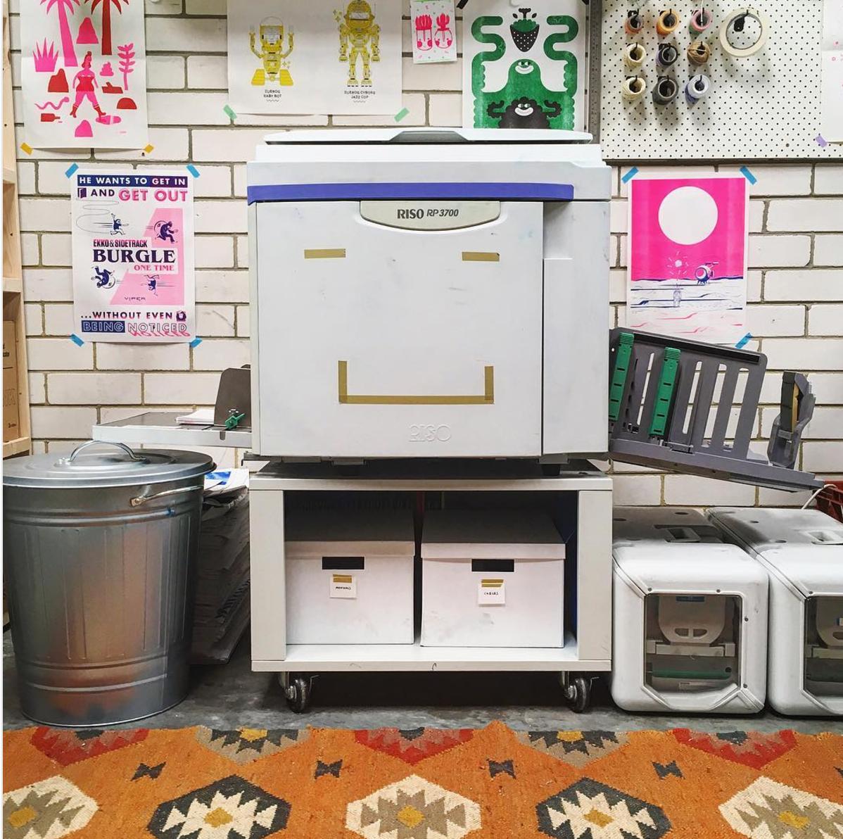 Ziggy the Risograph Printer