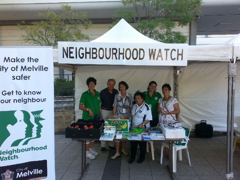 Neighbourhood Watch events within the City of Melville