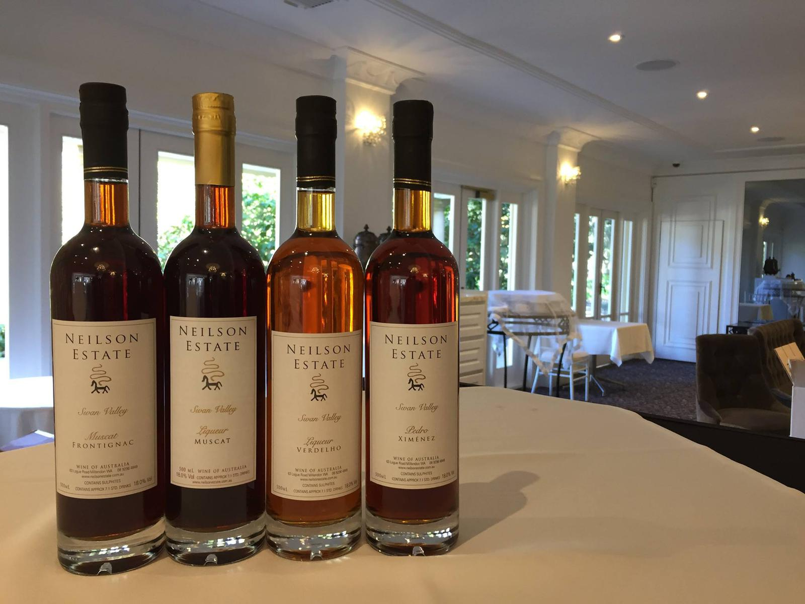 All four liqueurs won medals at the recent 2017 Swan Valley Wine Show