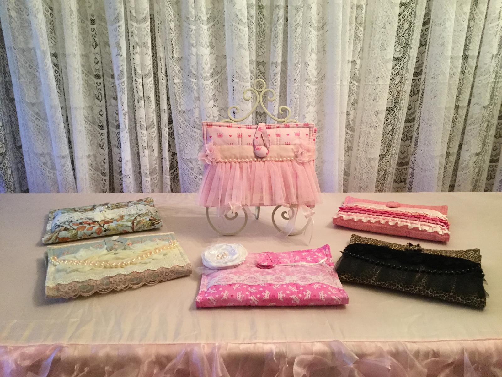 Girls Nappy Wallets