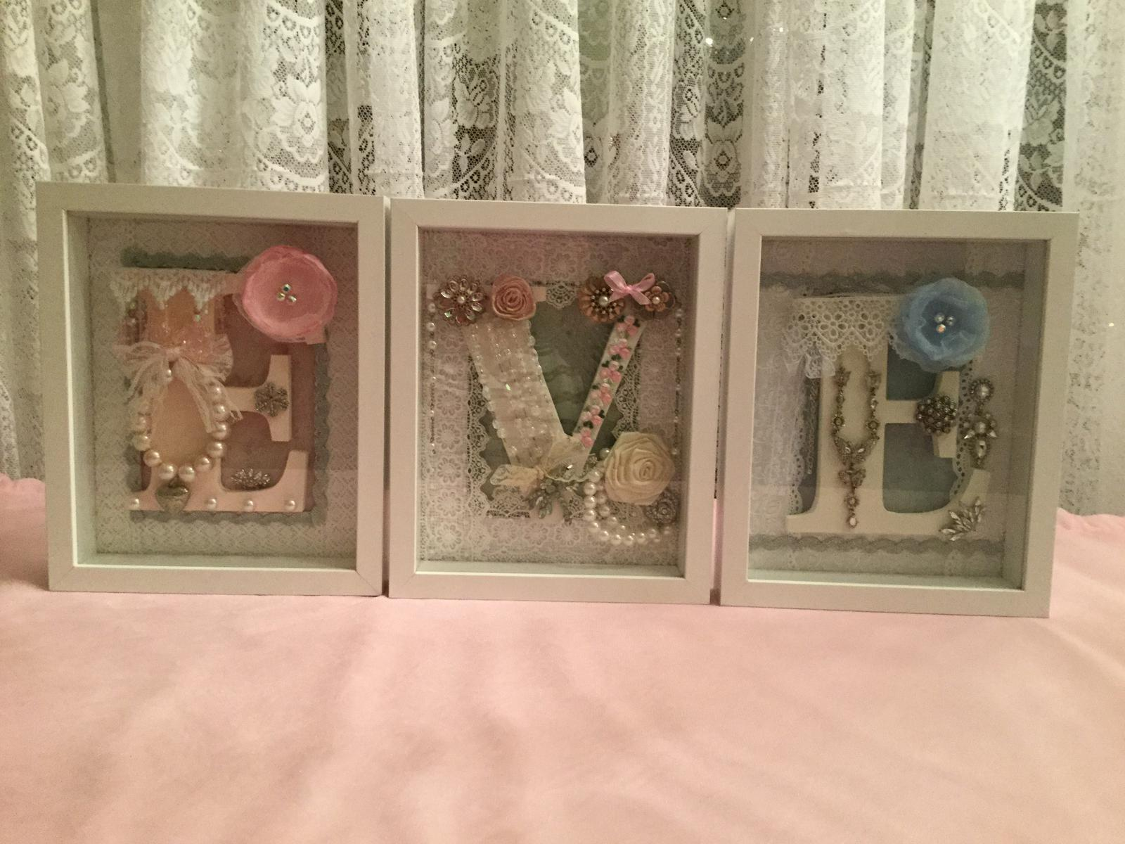 Shadow Box Letters