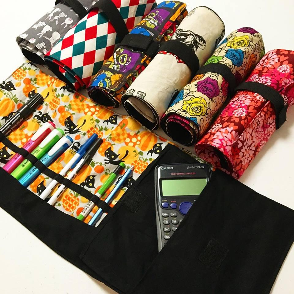 Roll-up Pencil Cases