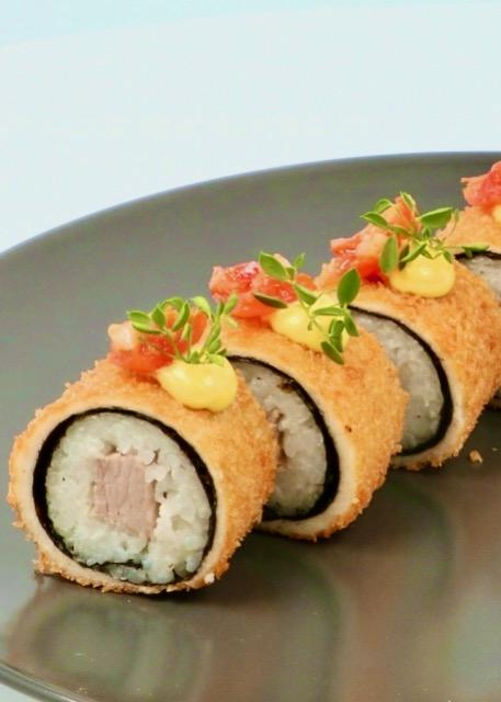 Deep Fried Sushi Rolls