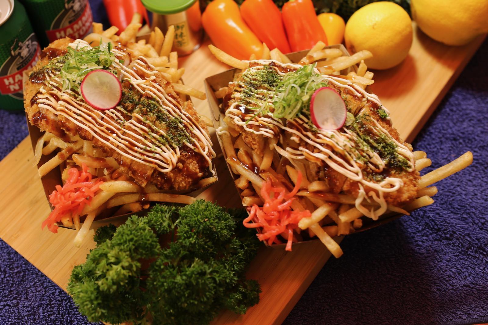 Chicken Katsu Loaded Fries