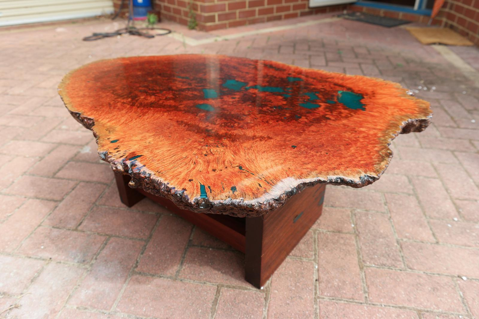 jarrah Burl Coffee Table