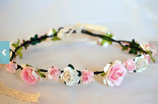 Flower Crown Handmade Weddings or Festivals