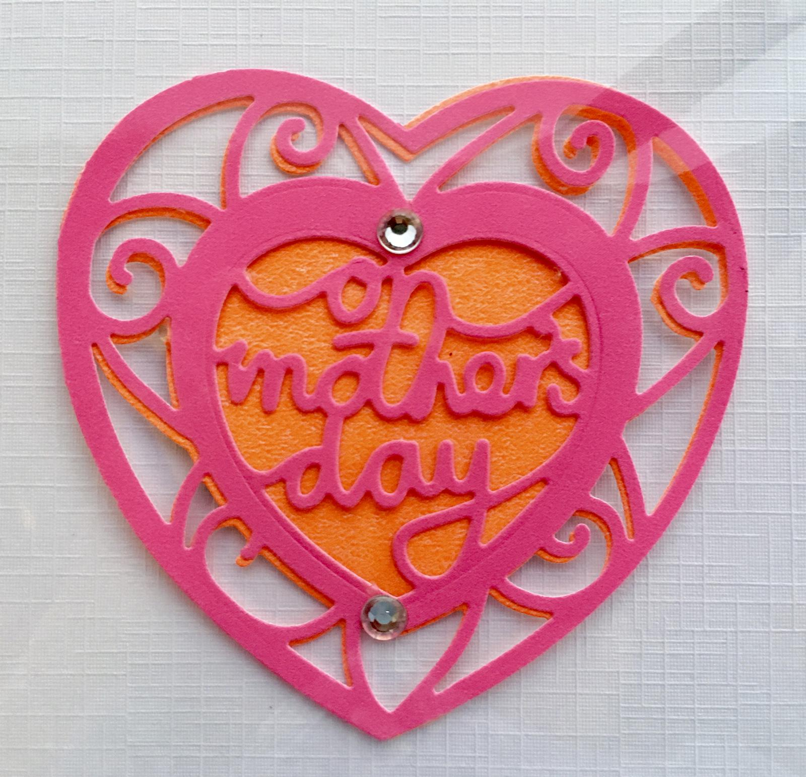 Mothers Day die cut cards