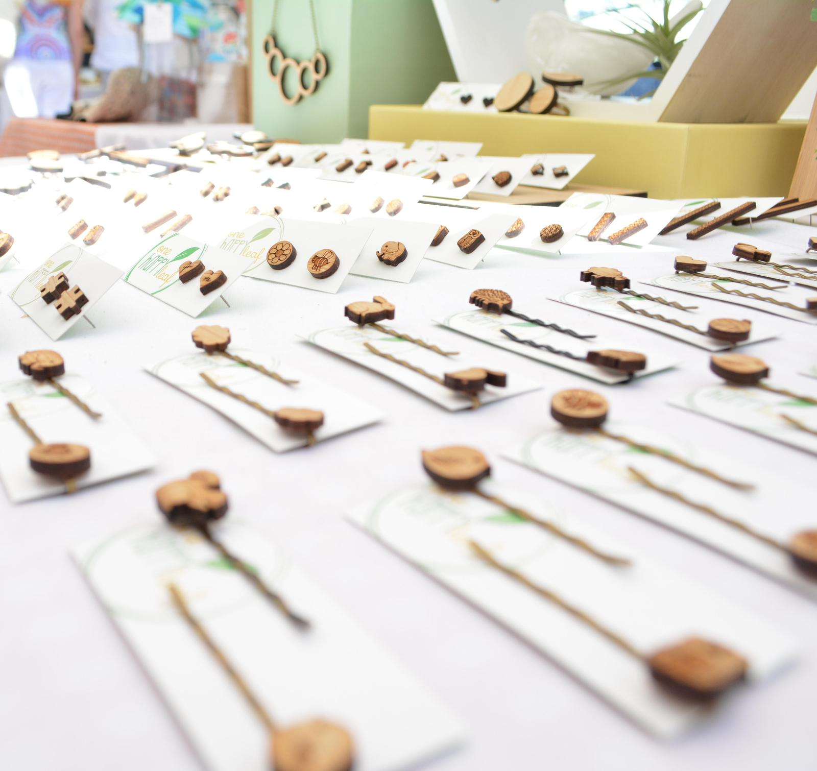 Hair pins from market display