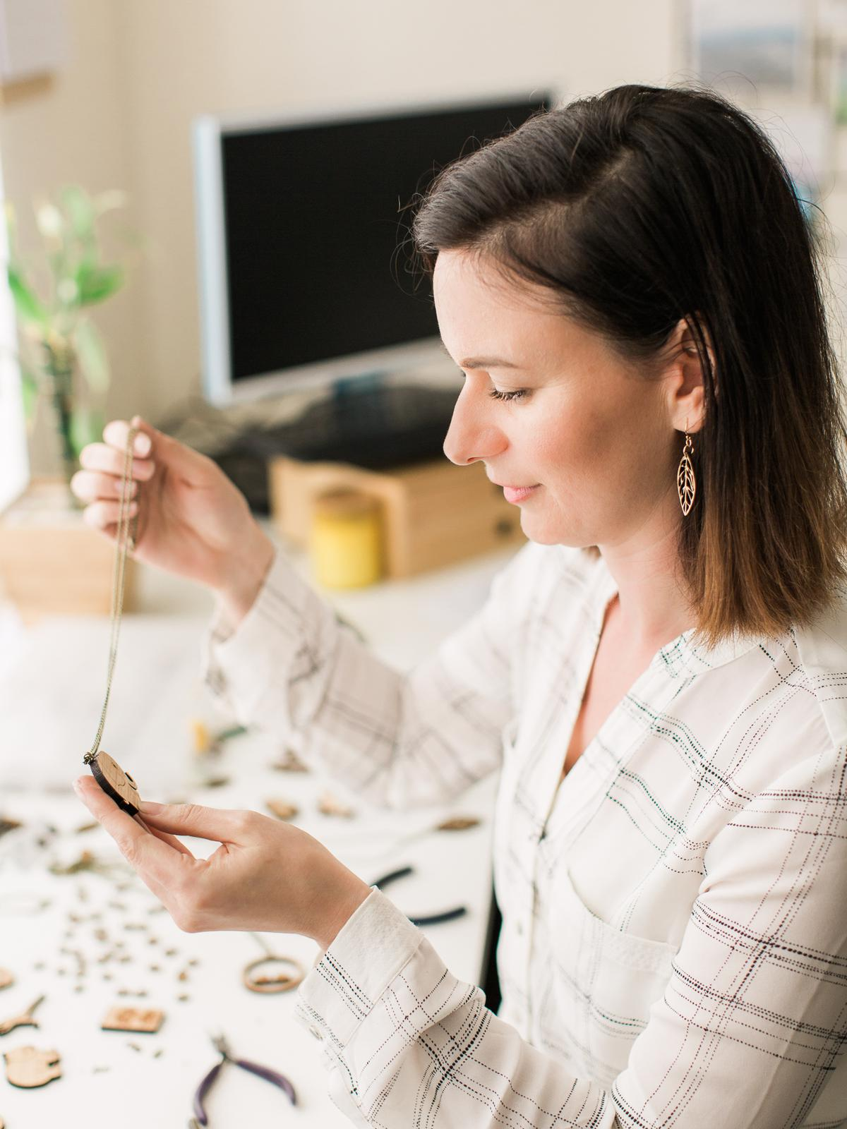 Anna in studio