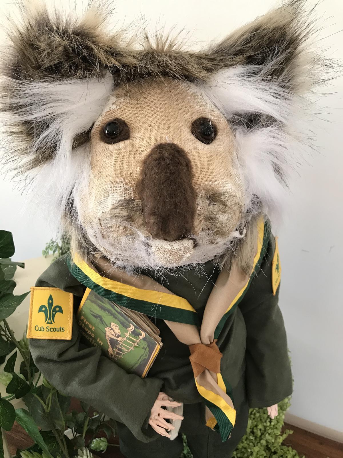 Anthropomorphic Koala boy scout